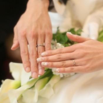 ご結婚式のご報告をいただきました!