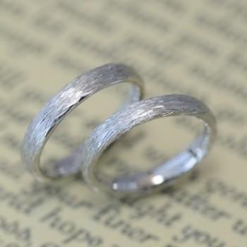〔結婚指輪〕枝のテクスチャ