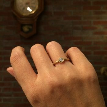octagon engagement ring
