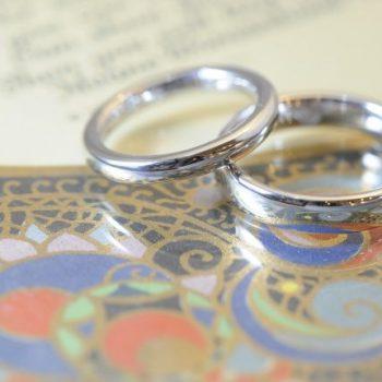 今日も結婚指輪!