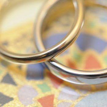 結婚指輪!