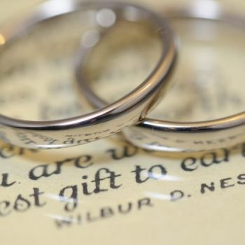 〔結婚指輪〕シンプル&スタンダード WG