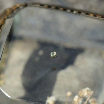 隕石とペリドット