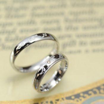 結婚指輪 音楽をテーマに