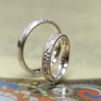 結婚指輪 スズラン