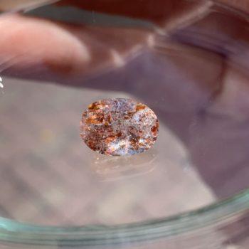銀座にもっていく石たち サンストーン