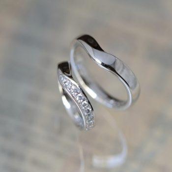 ブライダル 婚約指輪と結婚指輪と