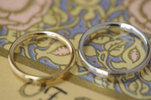 クラシカルタイプのオーダーメイド結婚指輪