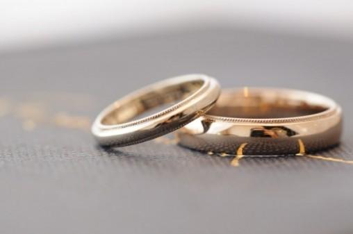 ミル ペア 結婚指輪