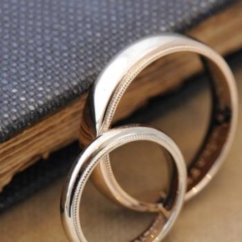 ふっくらミルのオーダーメイド結婚指輪