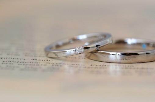 クラシカルスタイルのオーダーメイド結婚指輪