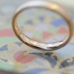 ローズゴールドの結婚指輪