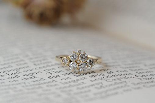 リメイクの婚約指輪